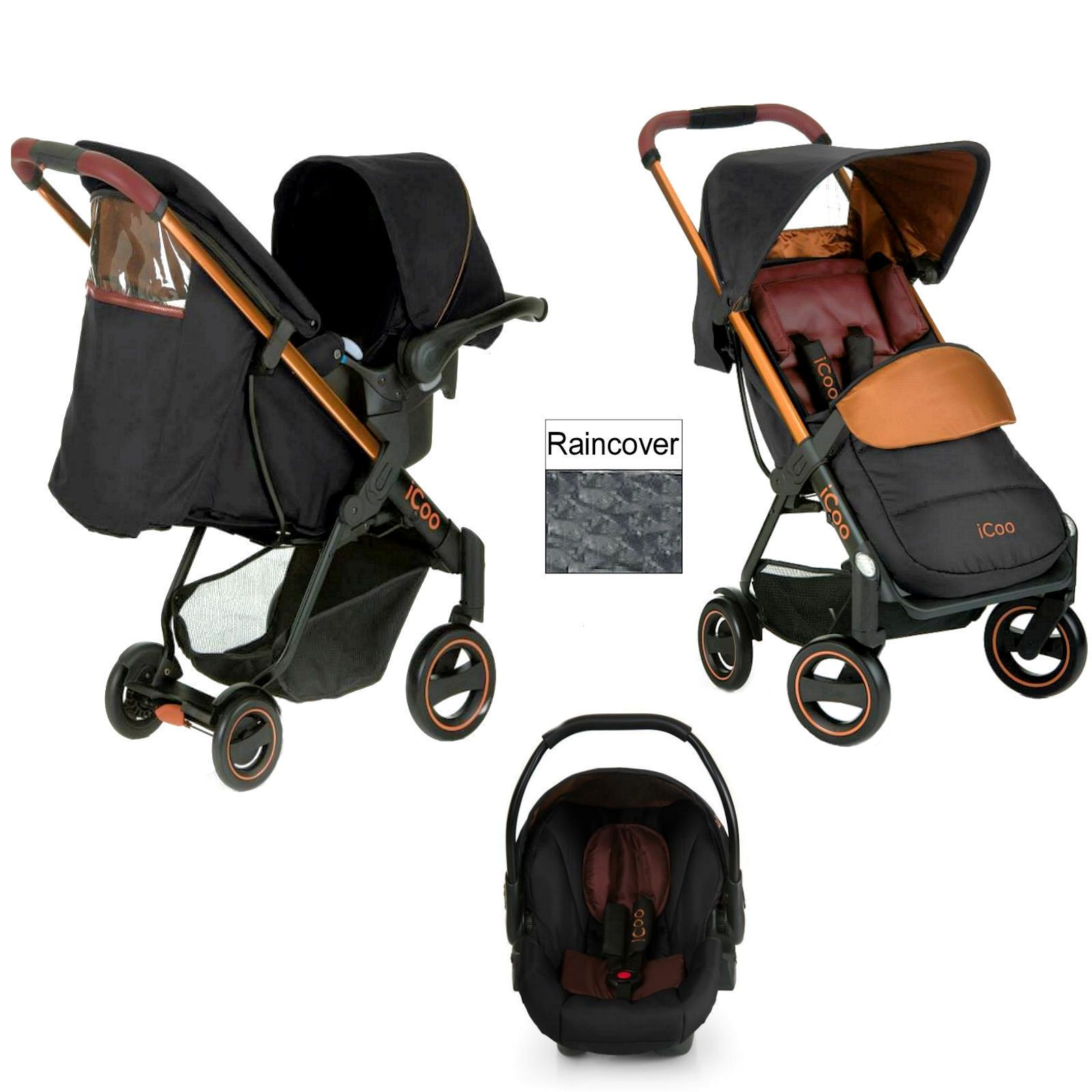 New Hauck Icoo Acrobat Shop N Drive Travel System