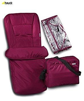 HAUCK COSYTOES, BAG RAINCOVER IN PLUM