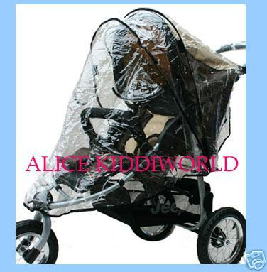 New Raincover Rain cover for 3 wheeler to fit pushchair hauck mothercare urban detour+