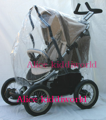 Raincover for TRAXX MARLIN JAGUAR 3&4 wheel pushchair